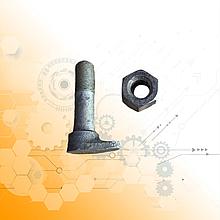 Болт крепления колеса КрАЗ с гайкой (стар. обр d-18 мм) 255Б-3104008