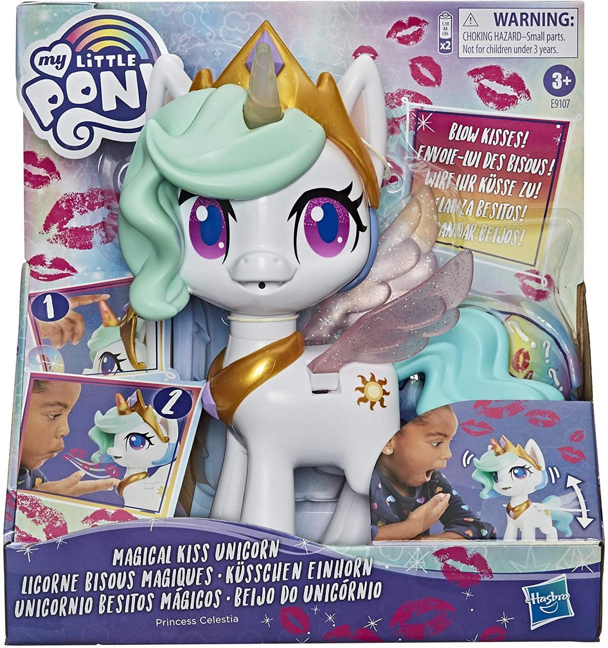 Интерактивная Май литл пони Принцесса Селестия My Little Pony Magical Kiss Unicorn