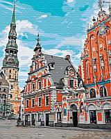"""Картина по номерах """"Тихе місто"""" (GX30458)"""