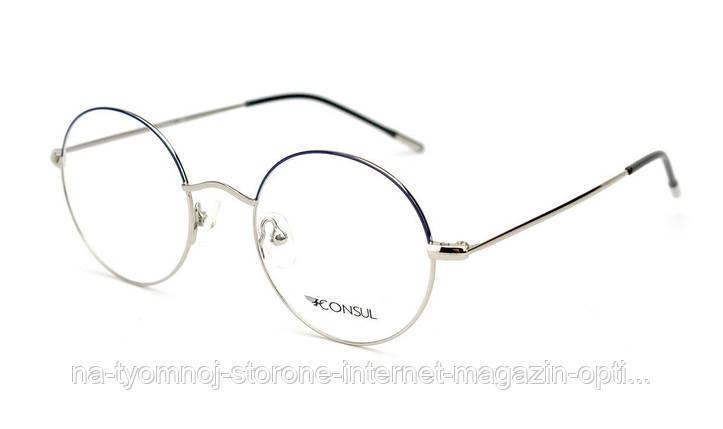 Металева оправа для окулярів Consul 9236, фото 2