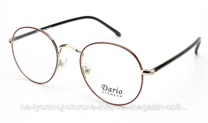 Металлическая оправа для очков Dario 310252, фото 2