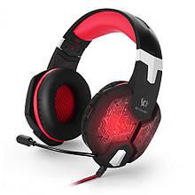 Навушники ігрові Kotion Each G1000 Red Black