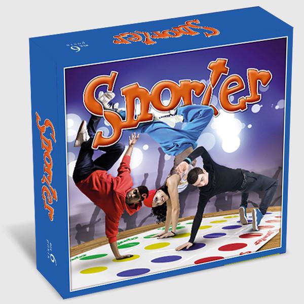 Игра Снортер (Твістер, Твистер, Twister) - Інтернет магазин розвиваючих іграшок та настільних ігор в Львовской области