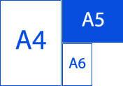 Листовка А5 формат (210х148), 4+4, 130г/м2