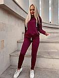 Женский спортивный костюм двухнить в расцветках, фото 3
