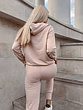 Женский спортивный костюм двухнить в расцветках, фото 2