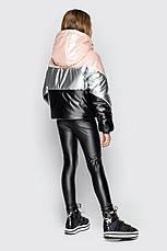 Детская куртка демисезонная, для девочки Миранда, на рост 128 по 158, фото 2