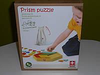 Игра-мозаика Prism Puzzle бамбуковая, фото 1