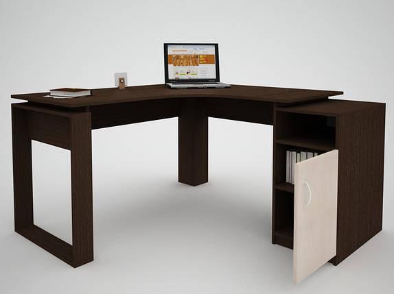 Письменный прямой офисный стол FlashNika / ФлешНика СН ЭКО 24, фото 2