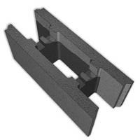 Фундаментный блок(несъемная опалубка) Новобуд-Днепр, 500х400х200