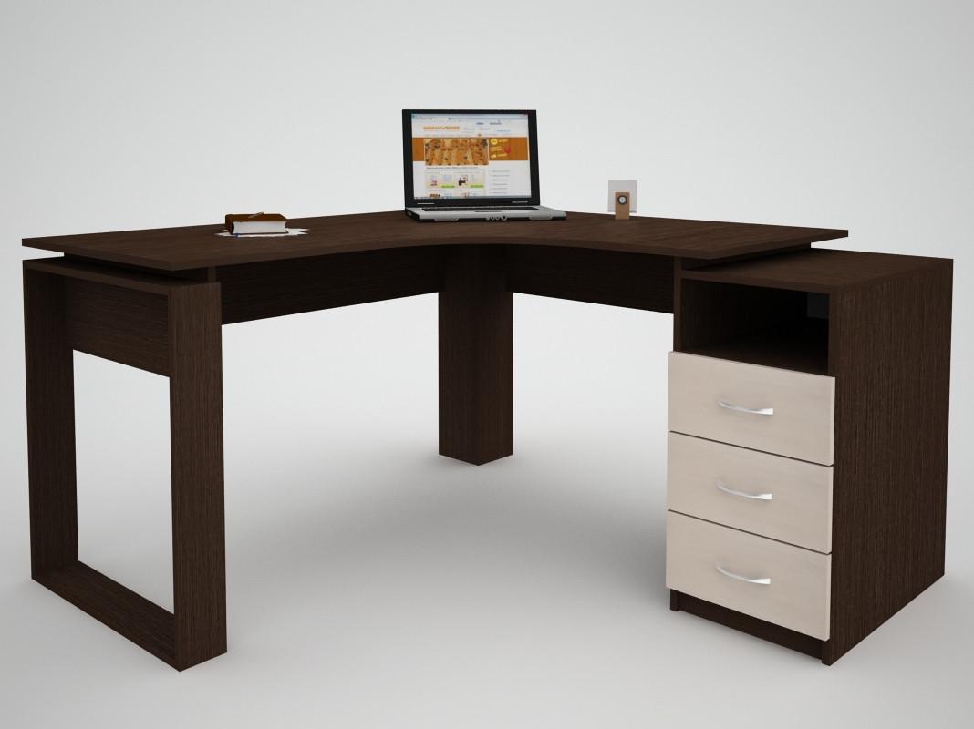 Письменный прямой офисный стол FlashNika / ФлешНика СН ЭКО 27