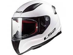 Мотошлем LS2 FF353 Rapid Single Mono Gloss White L  Бренды Европы