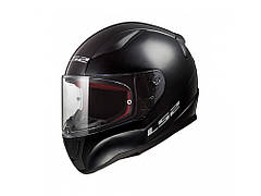 Мотошлем детский LS2 FF353 Rapid Mini Single Mono Gloss Black L  Бренды Европы