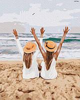 "Картина по номерах ""Подружки на морі"" (GX37561)"