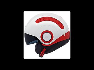 Мотошлем Nexx SX.10 White-Red M , фото 2