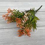 Куст декоративный с ягодками пластик 30 см, фото 6