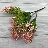 Куст декоративный с ягодками пластик 30 см, фото 3