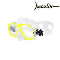 Маска для дітей Marlin Junior Yellow