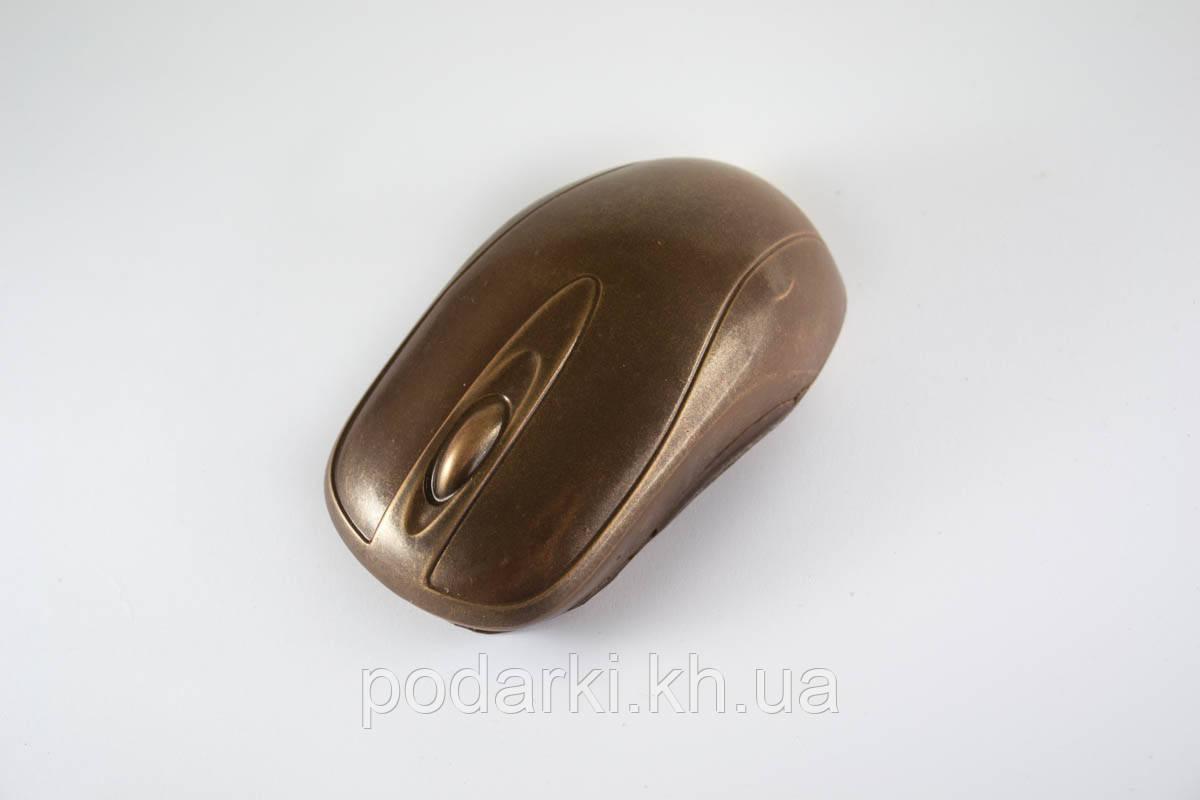 Шоколадная компьютерная мышка.  Прикольный сувенир парню