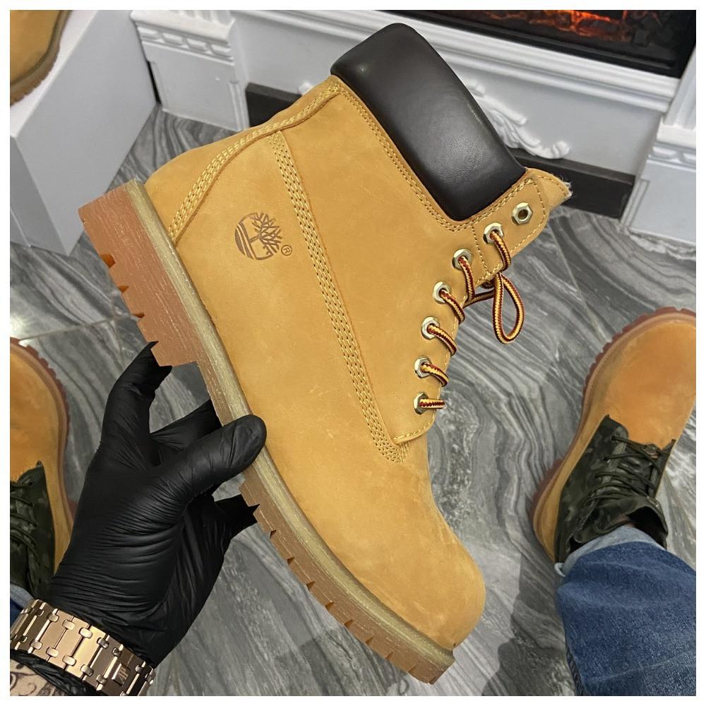 Мужские / женские зимние ботинки Timberland Ginger Fur, коричневые мужские ботинки тимберленд зимние женские