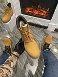 Мужские / женские зимние ботинки Timberland Ginger Fur, коричневые мужские ботинки тимберленд зимние женские, фото 3