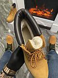 Мужские / женские зимние ботинки Timberland Ginger Fur, коричневые мужские ботинки тимберленд зимние женские, фото 4