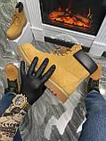 Мужские / женские зимние ботинки Timberland Ginger Fur, коричневые мужские ботинки тимберленд зимние женские, фото 5