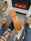 Мужские / женские зимние ботинки Timberland Ginger Fur, коричневые мужские ботинки тимберленд зимние женские, фото 7
