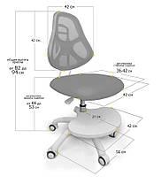 Ergo-kids Y-400   Зростаюче дитяче крісло для навчання з підставкою для ніг, фото 2