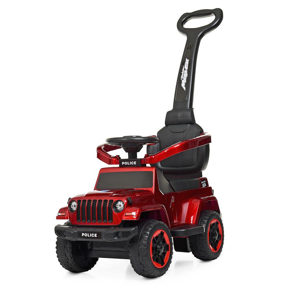 Дитяча машинка каталка толокар Bambi M 3902L-3, червоний