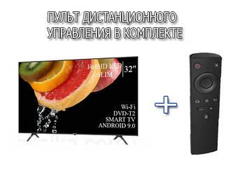 "ТЕЛЕВІЗОР HISENSE 32"" Smart-TV FullHD T2 USB Гарантія 1 РІК! Android 9.0"