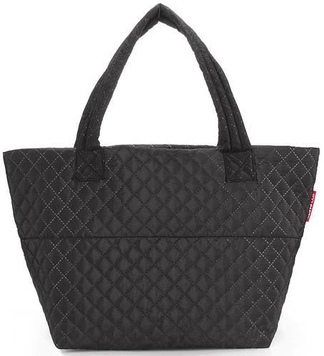 Модная стеганая женская сумка POOLPARTY Broadway pp-broadway-fullblack черная