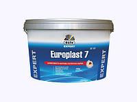 Europlast 7 DE107 Шелковисто-матовая латексная краска 10 л.