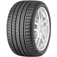 Б/у Летняя легковая шина Continental ContiSportContact 2 235/45 R18 98W (присутствует дефект с боку!).