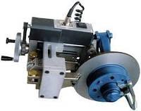 Станок для проточки тормозных дисков легковых автомобилей без снятия с автомобиля
