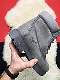 Чоловічі / жіночі зимові черевики Timberland Gray Fure Premium, сірі чоловічі черевики тімберленд зимові, фото 5