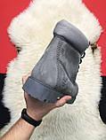 Чоловічі / жіночі зимові черевики Timberland Gray Fure Premium, сірі чоловічі черевики тімберленд зимові, фото 6