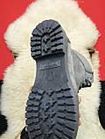 Чоловічі / жіночі зимові черевики Timberland Gray Fure Premium, сірі чоловічі черевики тімберленд зимові, фото 8
