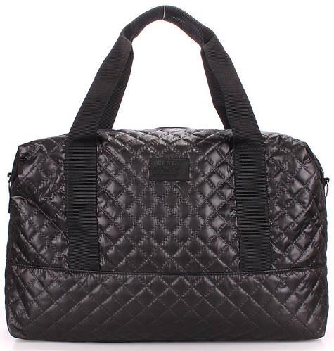 Стеганая сумка POOLPARTY Swag swag-black черная