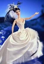 Коллекционная Barbie Лебедь серия Красивые птицы