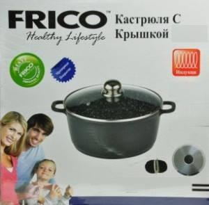 Казан-жаровня FRICO FRU-956 20 см, 2.2 л, фото 2