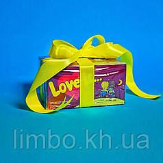 Жвачки  Love Is... «Вишня — лимон»