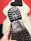 Чоловічі / жіночі зимові черевики Timberland Brown Fure Premium коричневі чоловічі черевики тімберленд зимові, фото 9