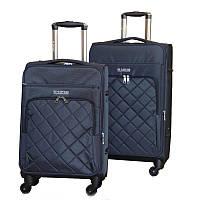 Надежный чемодан туриста двойка (Blue), 510352