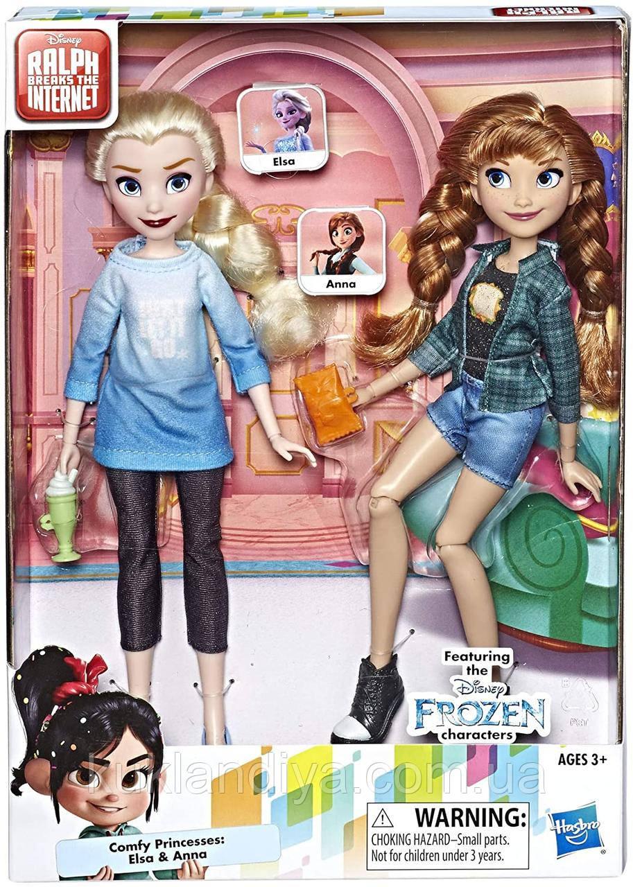 Набор кукол Холодное сердце Дисней Анна и Эльза серия Ральф против интернета