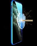 Магнитный металлический чехол FULL GLASS 360° для Huawei P40 Lite /, фото 6