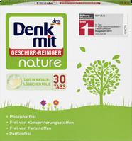 Таблетки для посудомойки без вредных добавок Denkmit Geschirr-Reiniger nature
