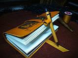 Кожаный блокнот Властелин Колец,  в подарочной упаковке. +бонус, фото 4
