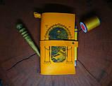 Кожаный блокнот Властелин Колец,  в подарочной упаковке. +бонус, фото 2