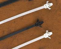 Кабельная стяжка с монтажной головкой 4.8х190 мм (100 шт.) белые LXL